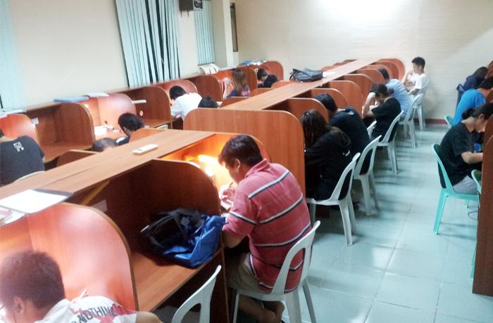 フィリピン留学 JIC CEBU - 自習室