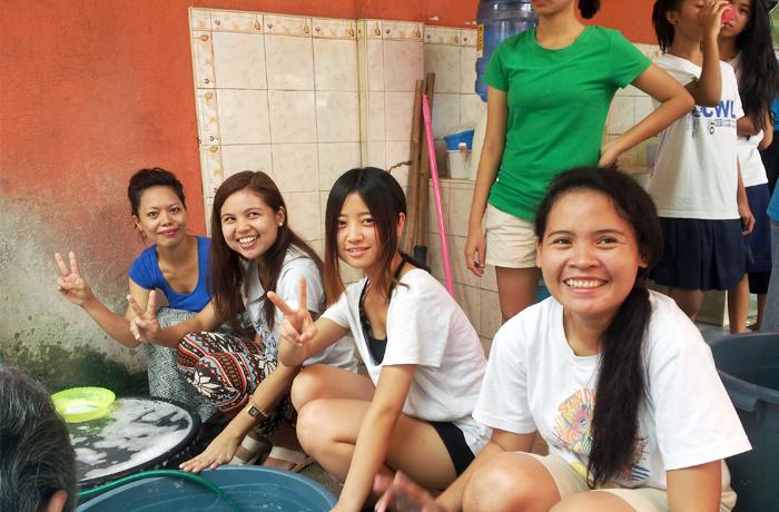 フィリピン留学 JIC CEBU - 毎週日曜日に開催されるボランティア(無料)