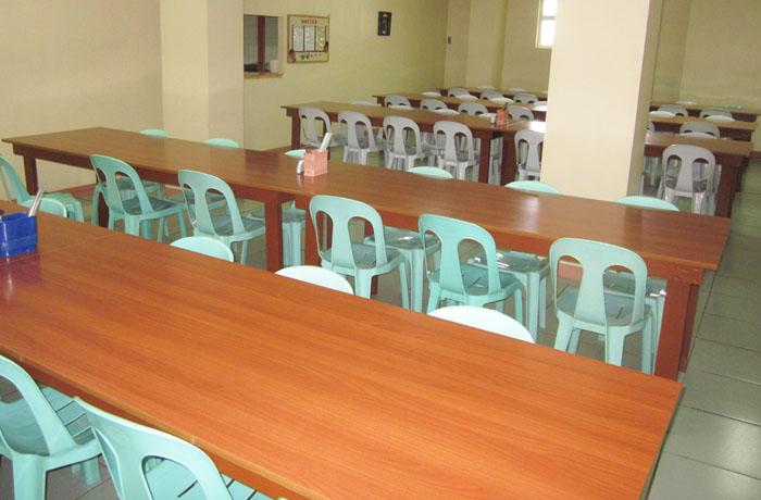 フィリピン留学 JIC CEBU - 食堂