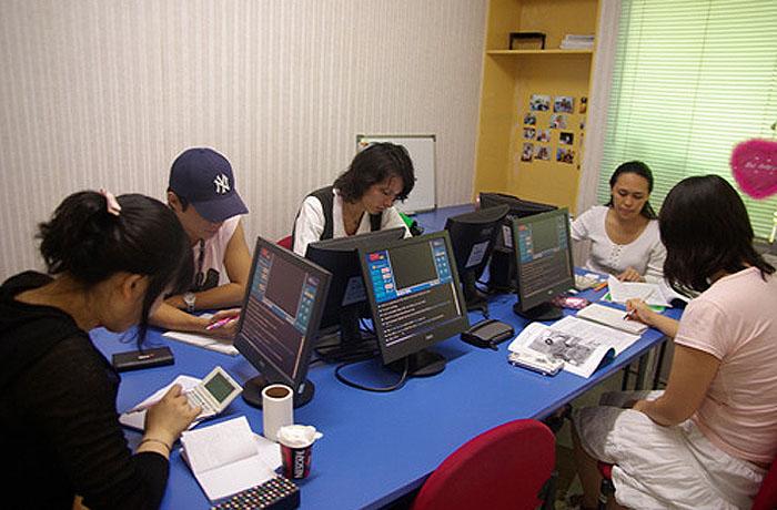 フィリピン留学 JIC CEBU - グループ授業