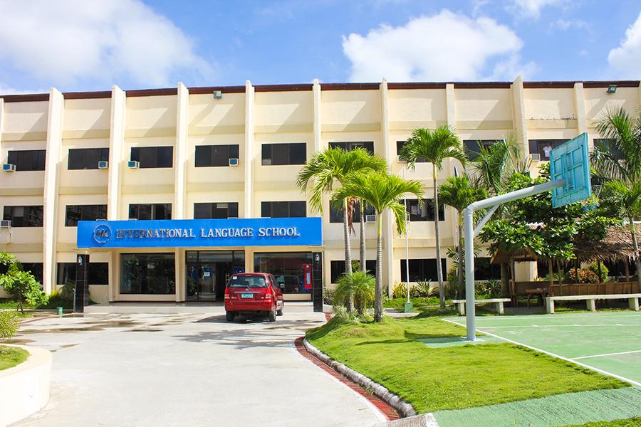 フィリピン留学 MK EDUCATION International Language school 学校外観