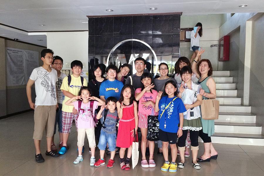 フィリピン留学 MK EDUCATION International Language school エントランス