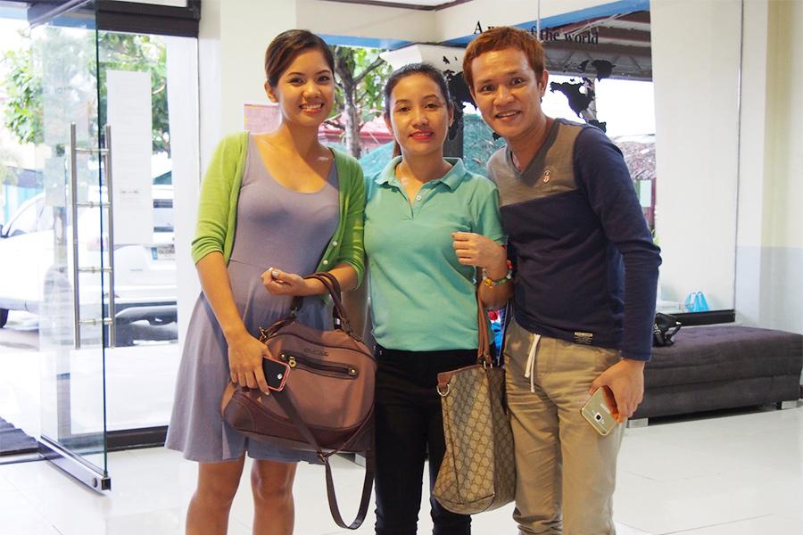 フィリピン留学 MK EDUCATION International Language school フィリピン人スタッフ