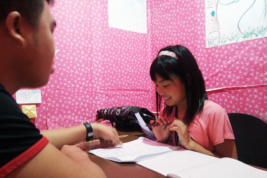 フィリピン留学 MK EDUCATION International Language school キッズ マンツーマンレッスン