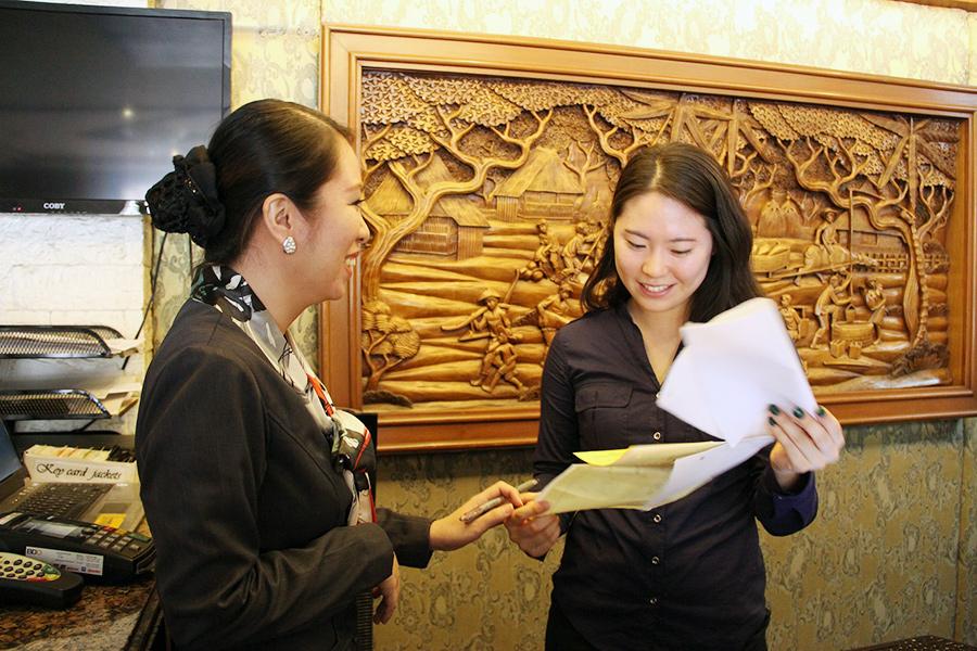 フィリピン留学 MK EDUCATION International Language school ホテルインターン