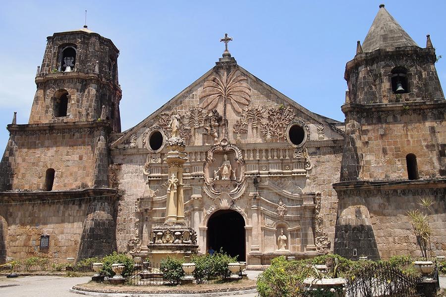 フィリピン留学 MK EDUCATION International Language school 世界遺産ミアガオ教会