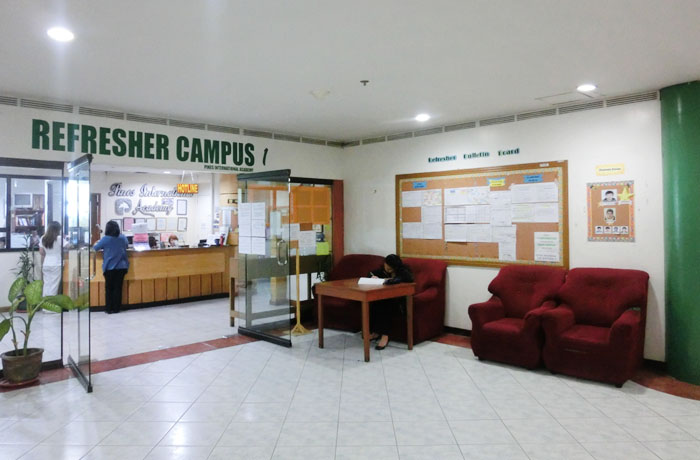 フィリピン留学 JIC CEBU - オフィス入口