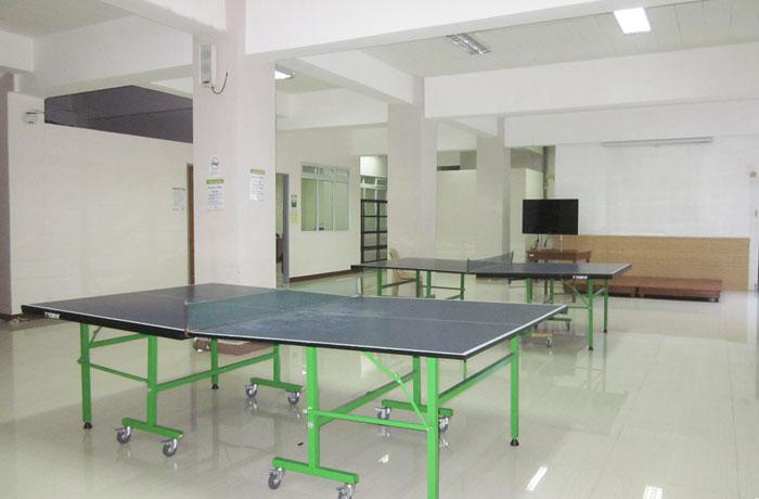 フィリピン留学 JIC CEBU - 卓球場