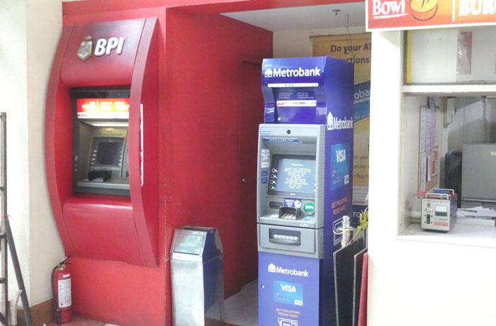 フィリピン留学 JIC CEBU - ATMマシーン有