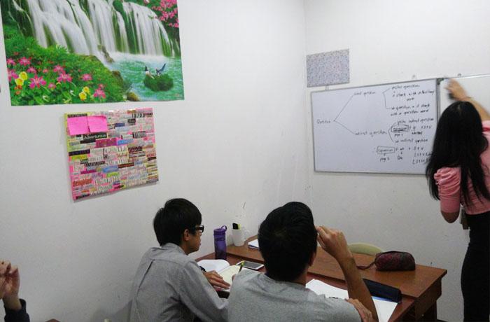 フィリピン留学 JIC CEBU - グループ教室の様子