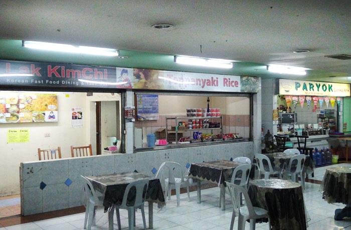 フィリピン留学 JIC CEBU - フードコート