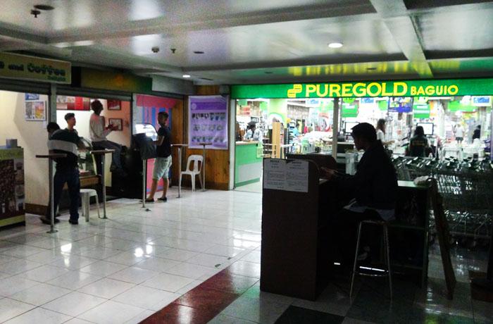 フィリピン留学 JIC CEBU - 施設内スーパーマーケット