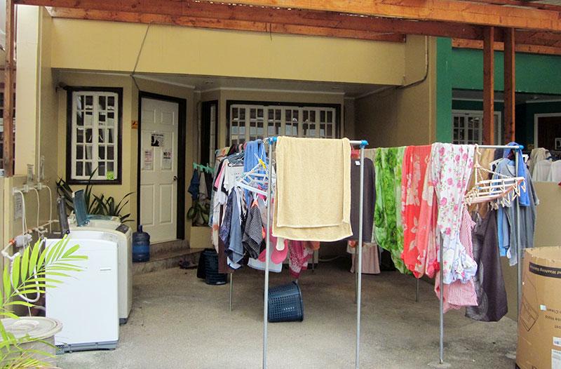 フィリピン留学 QQ English IT Park - 洗濯は各個人で