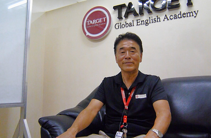 フィリピン留学 TARGET - 日本人校長