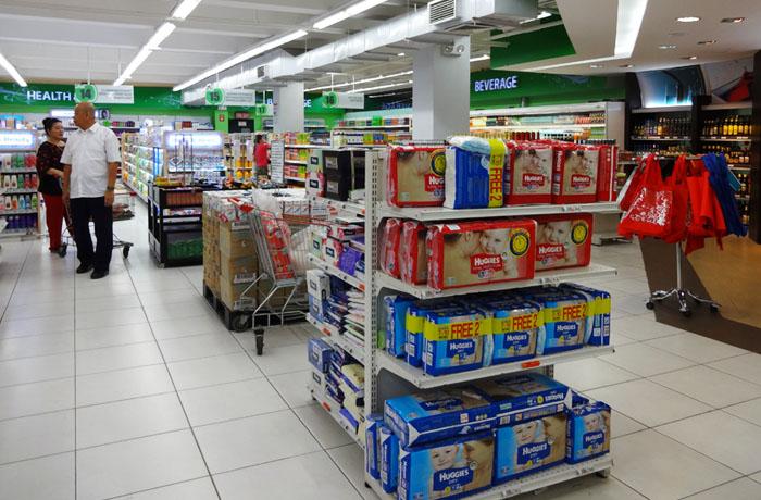 フィリピン留学 UV ESL - 徒歩13分のスーパーマーケット
