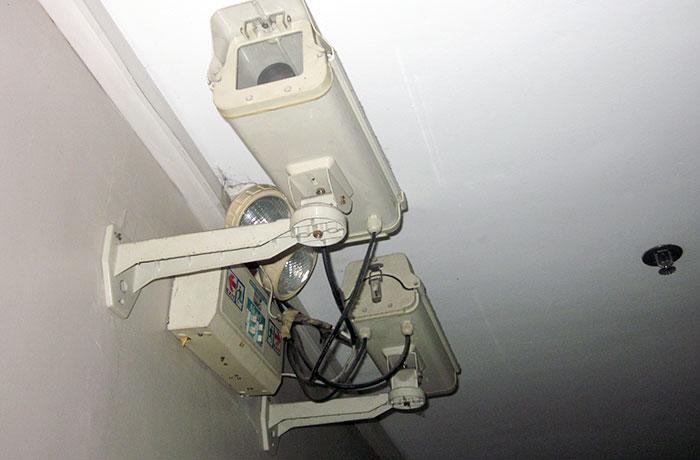 フィリピン留学 UV ESL - 寮各階の防犯カメラ