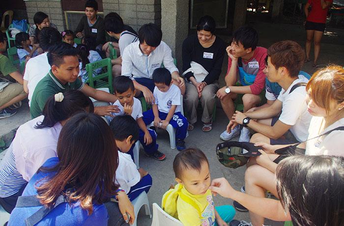 フィリピン留学 UV ESL - ボランティア