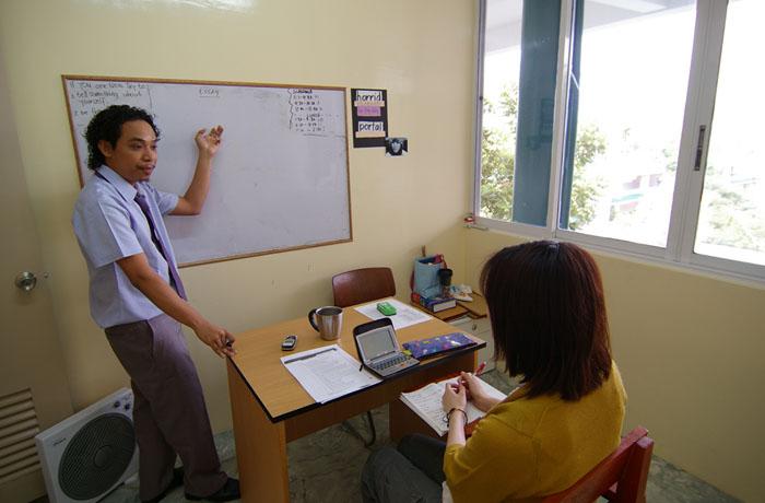 フィリピン留学 UV ESL - マンツーマン授業