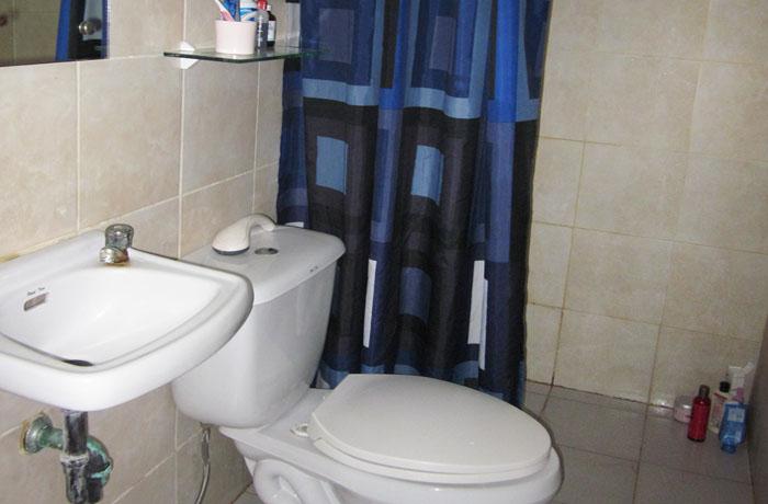 フィリピン留学 UV ESL - 寮各室内バスルーム