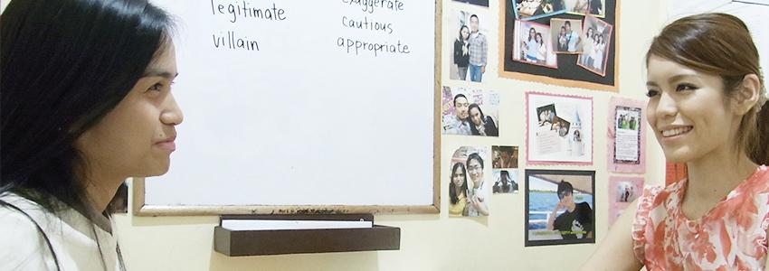 フィリピン留学が日本で人気-マンツーマンレッスン 中心