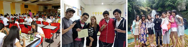 生徒の国籍率 - フィリピン留学、日本人経営学校と韓国人経営学校