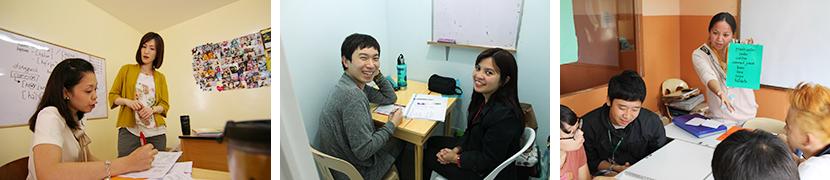 マンツーマン授業中心の授業形式がフィリピン留学
