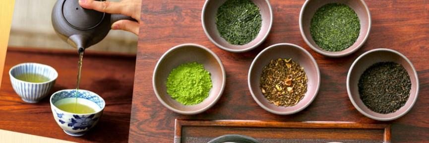 """日本茶、麦茶などの""""甘くない""""お茶"""
