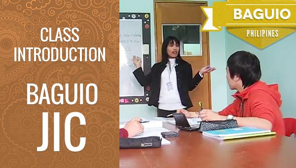 フィリピン留学 Baguio JIC Grammar Class