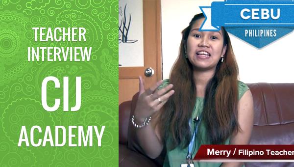 フィリピン留学 CIJ Academy Teacher Merry