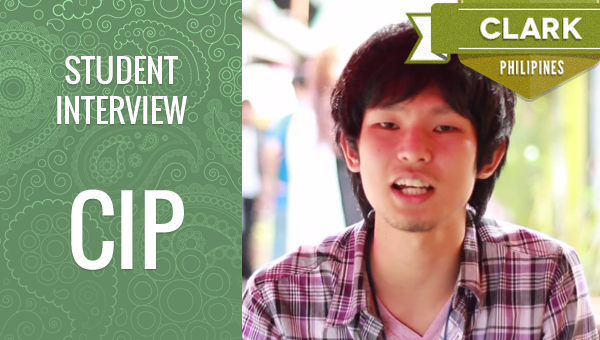 フィリピン留学 CIP Student Interview