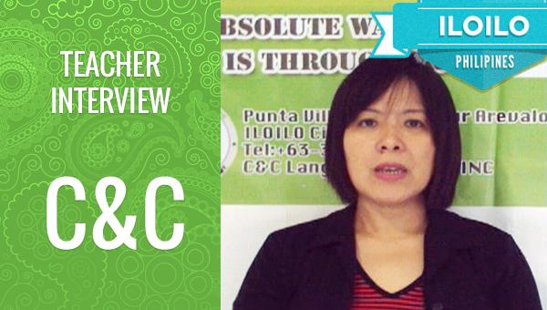 フィリピン留学 TOEIC manager Odette interview
