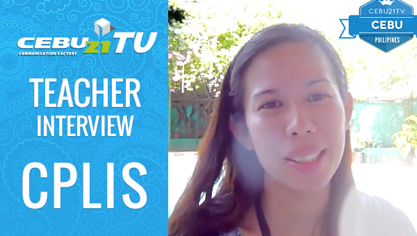 フィリピン留学 CPLIS Teacher インタビュー