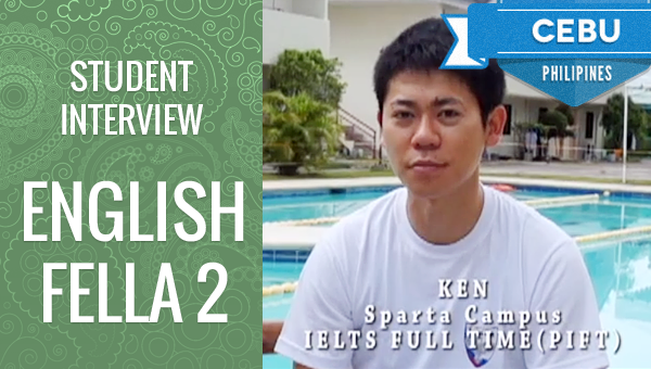 フィリピン留学 Student Interview - Ken