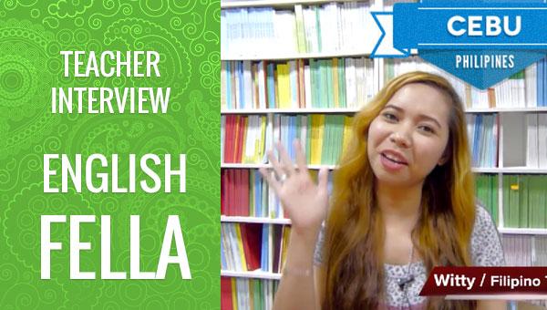 フィリピン留学 English Fella Teacher Witty