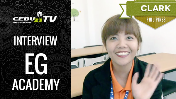 フィリピン留学 EG Academy Teacher interview