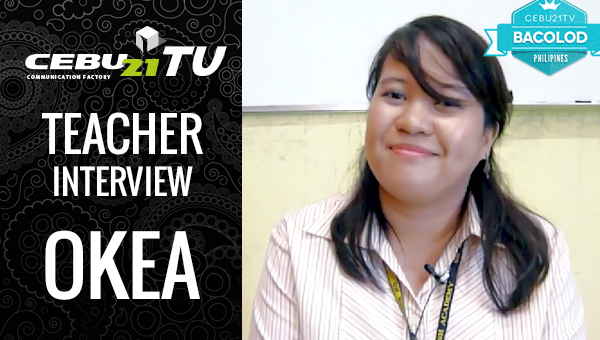 フィリピン留学 OKEA Teacher インタビュー