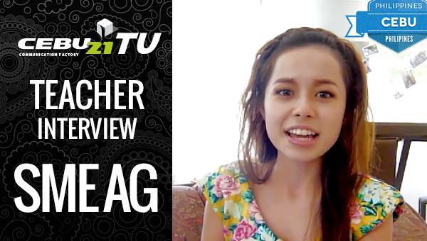 フィリピン留学 SME AG Mary先生のインタビュー